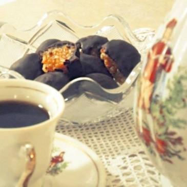 Σοκολατάκια με μανταρίνια Χίου