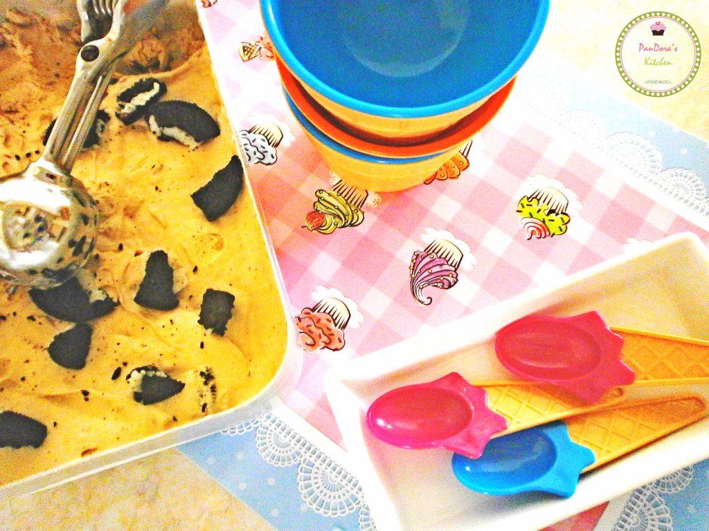 παγωτό μόκα με oreo-καφές-μόκα-μπισκότα-παγωτό-καλοκαίρι