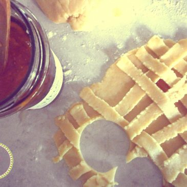 Μπισκότα γεμιστά με μανταρίνι