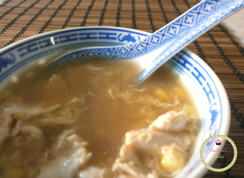 pandoras-kitchen-blog-greece-chinese soup with chicken and corn-κινέζικη σούπα με καλαμπόκι και κοτόπουλο