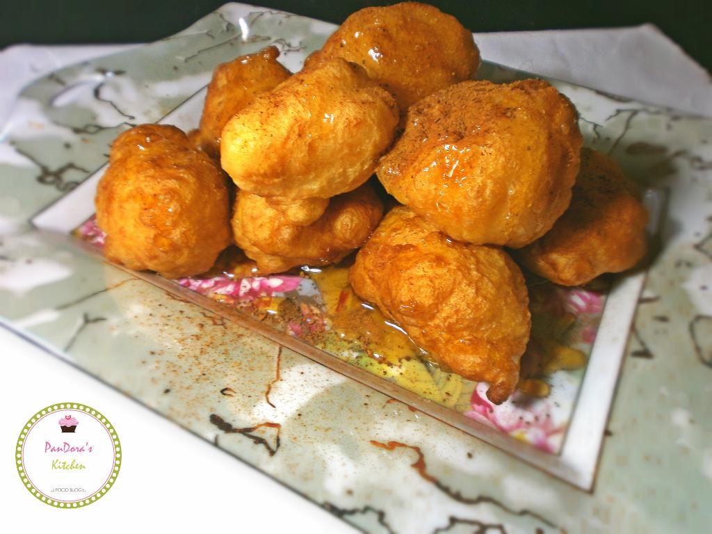 λουκουμάδες με μαστίχα Χίου-Ελλάδα-λουκουμάς-κανέλα-μέλι