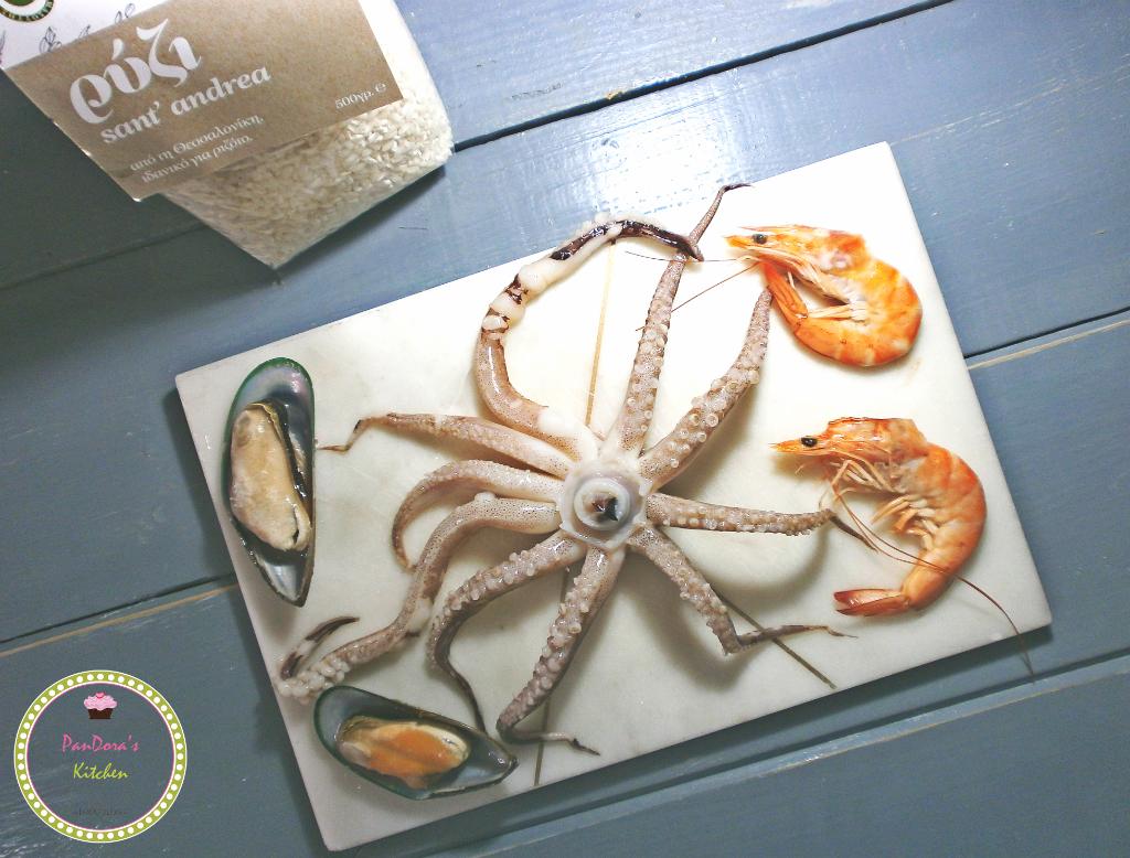 θαλασσινά-γαρίδες-καλαμάρια-καθαρή δευτέρα-μύδια-μασούτης-ρύζι