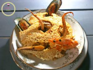 ριζότο του ψαρά-θαλασσινά-γαρίδες-καλαμάρια-μύδια-καθαρή δευτέρα-μασούτης