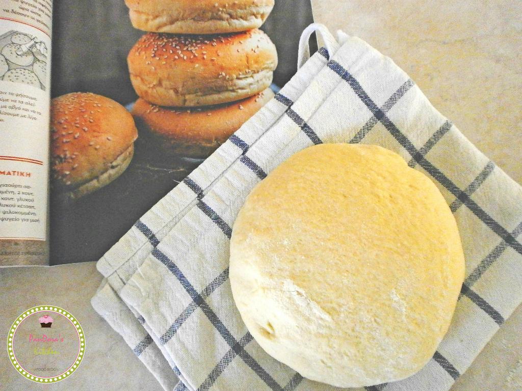 ζύμη-ψωμί-μπέργκερ