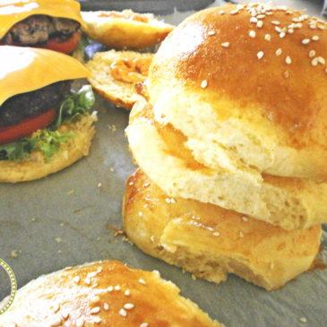 Ψωμάκια για Burger
