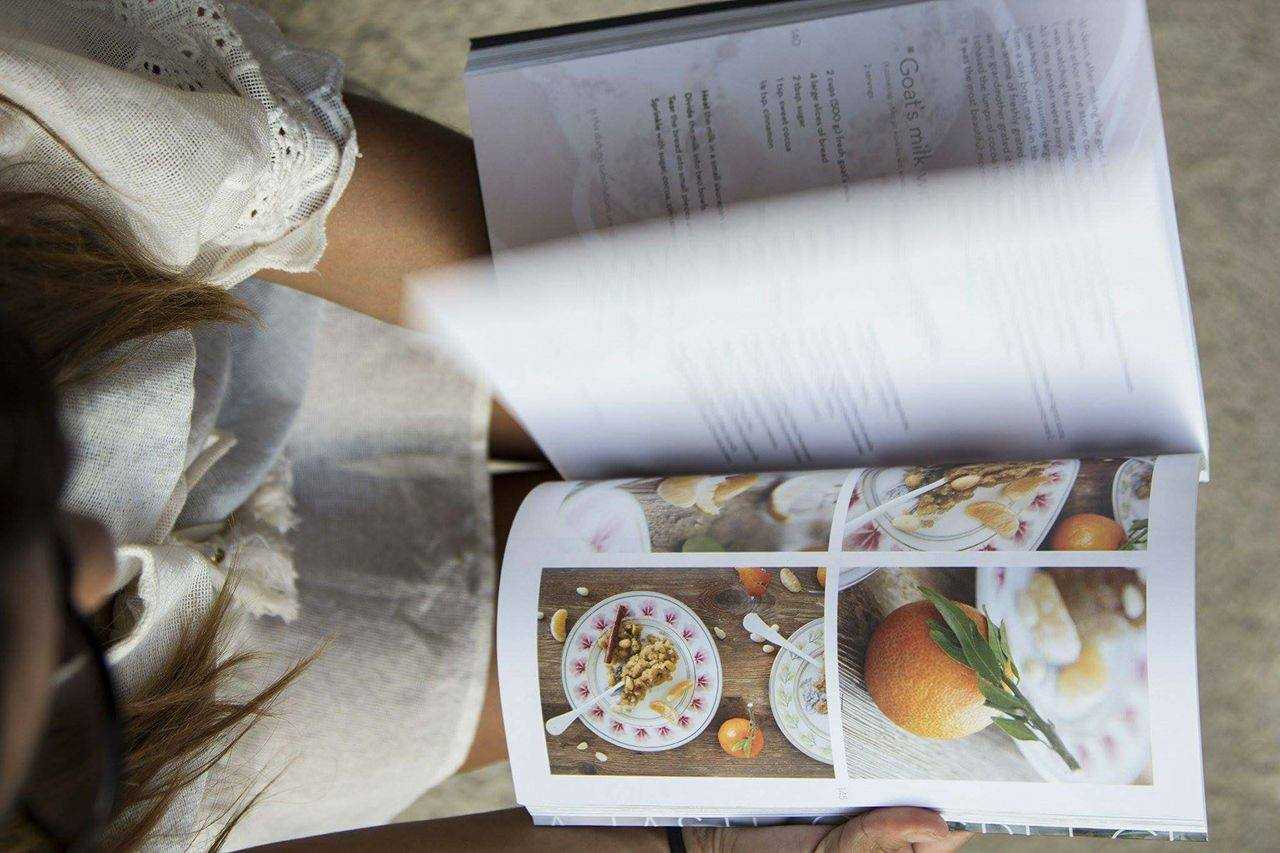 instagram giveaway-recipe book-a taste of greece-andreas lagos-chef