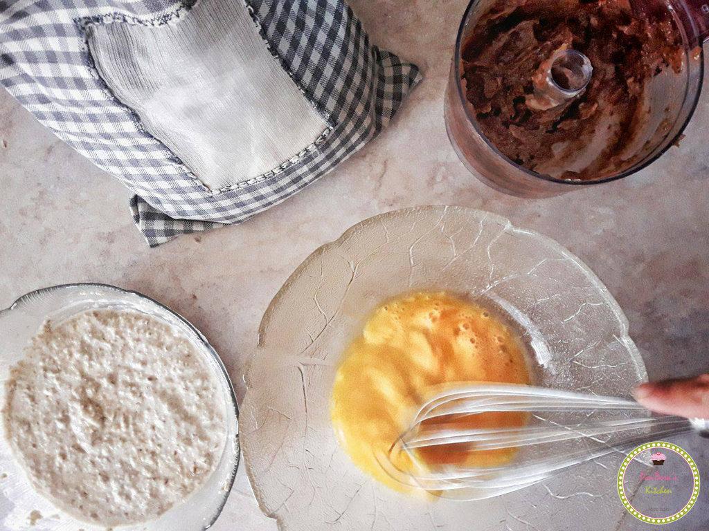 τούρτα με mousse ταχίνι χωρίς ζάχαρη και γαλακτοκομικά-τούρτα-ταχίνι-χωρίς ζάχαρη