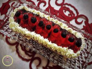 light-cheesecake-xmas recipe-silikomart-meringa