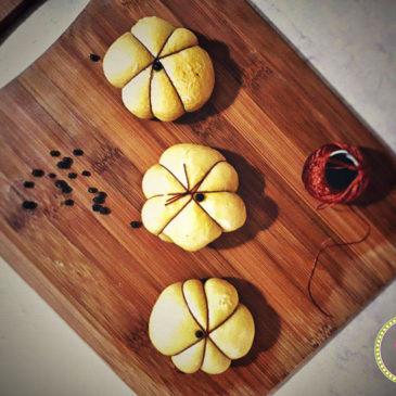 κολοκυθόπιτα-κολοκύθα-Πιροσκί με κίτρινη κολοκύθα και κοπανιστή Τήνου