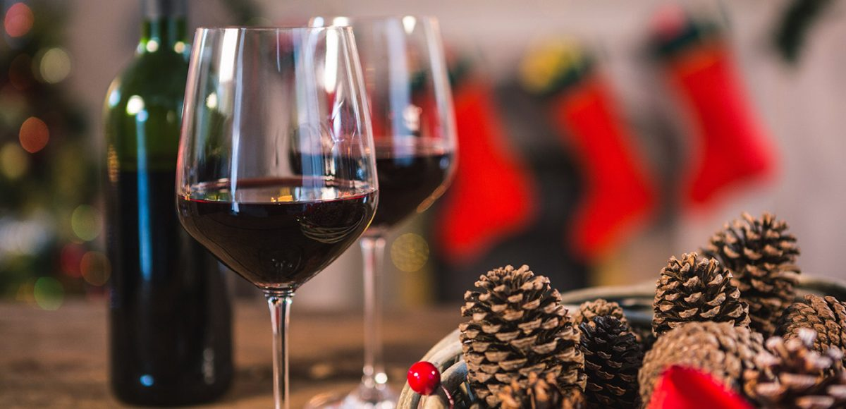 red wine-wine-christmas