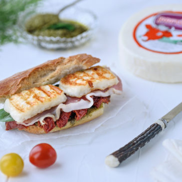 Σάντουιτς με προσούτο και Μαστέλο