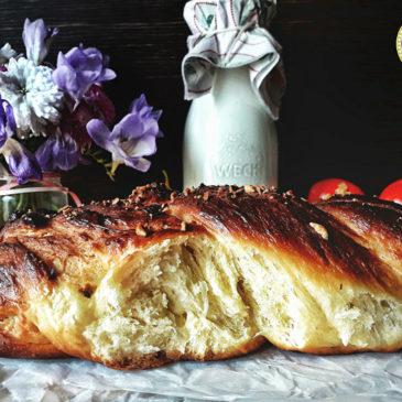 τσουρέκι με ίνες-τσουρέκι-πάσχα-πασχαλινές συνταγές
