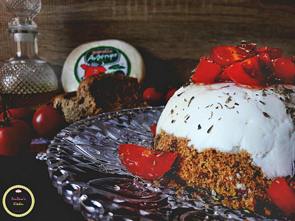 Αλμυρό Cheesecake-ανθότυρο-μαστέλο-τυρί-χίος-ντάκος